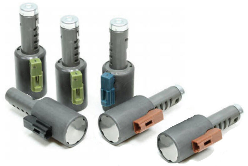 Aw Tf80 Sc Af40 6 New Linear Solenoid 6 Pc Set 2006 On