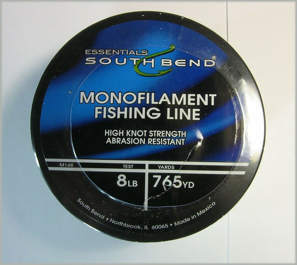 South bend sb m148 monofilament fishing line 8 lb test 765 for Fishing line test