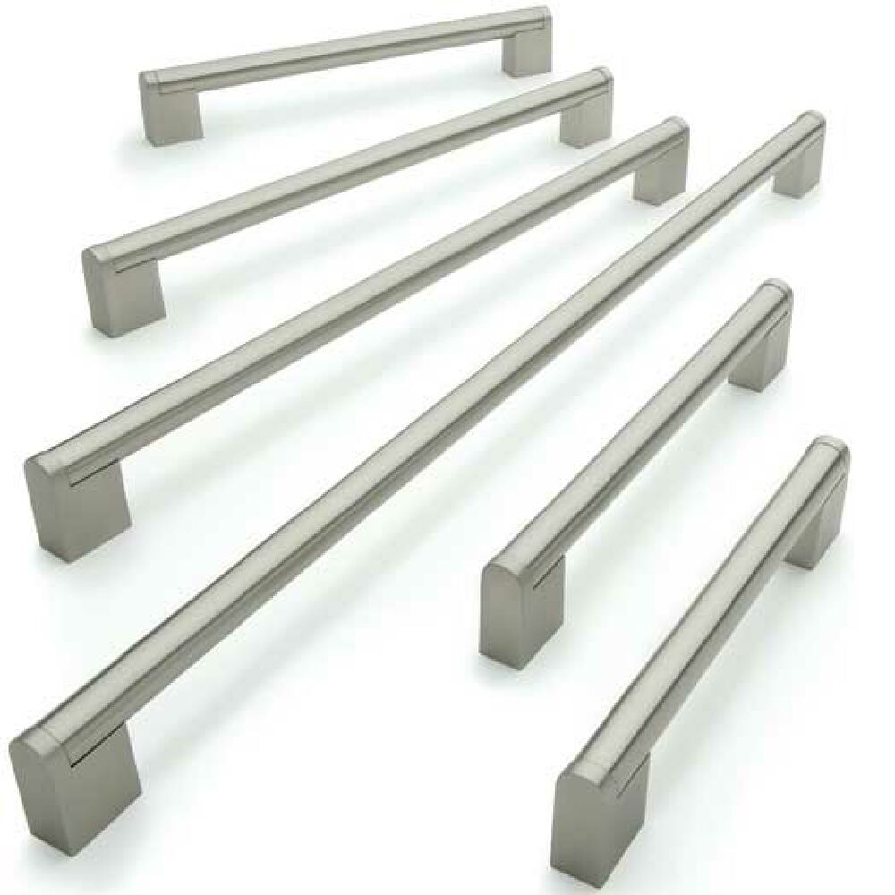 156mm 476mm Boss Kitchen Cabinet Door Handles Stainless Steel 14mm Bar Ebay