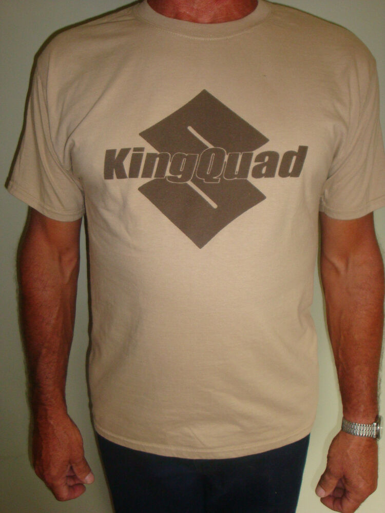 suzuki king quad atv quad t shirt ebay. Black Bedroom Furniture Sets. Home Design Ideas