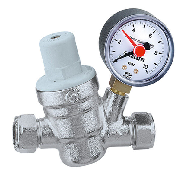 caleffi pressure reducing valve c w gauge ebay. Black Bedroom Furniture Sets. Home Design Ideas