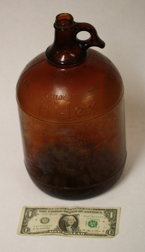 Duraglas One Gallon Glass Jug