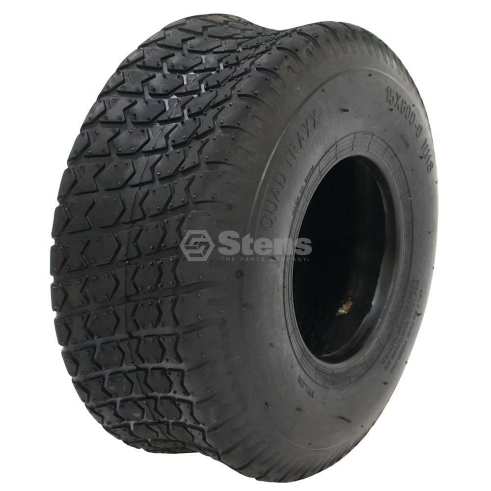 15x6 00 6 Tires For Mower Front Turf Saver Style 4 Ply