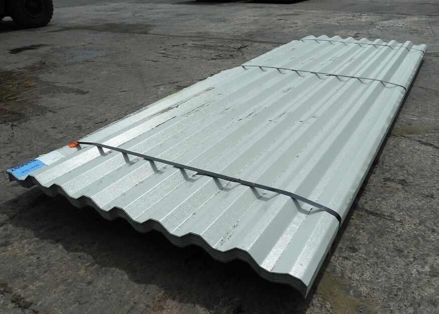 Aluminium Cladding Up Box : Goosewing grey box profile steel metal roofing wall