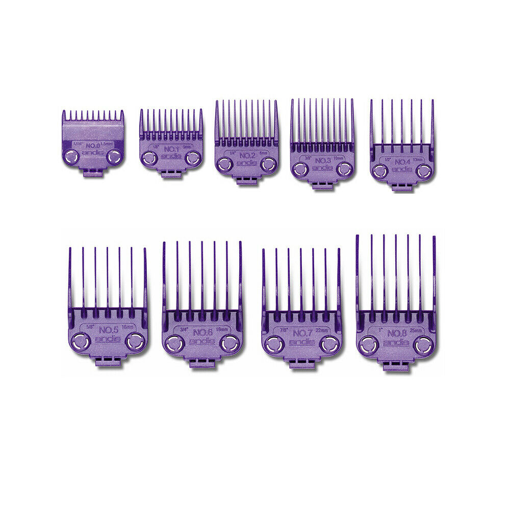 Andis Double Magnetic Guards Combs Guides 01410 01415