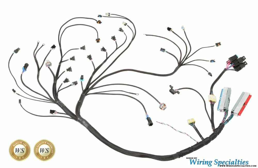 wiring specialties pro engine tranny harness for gm ls1