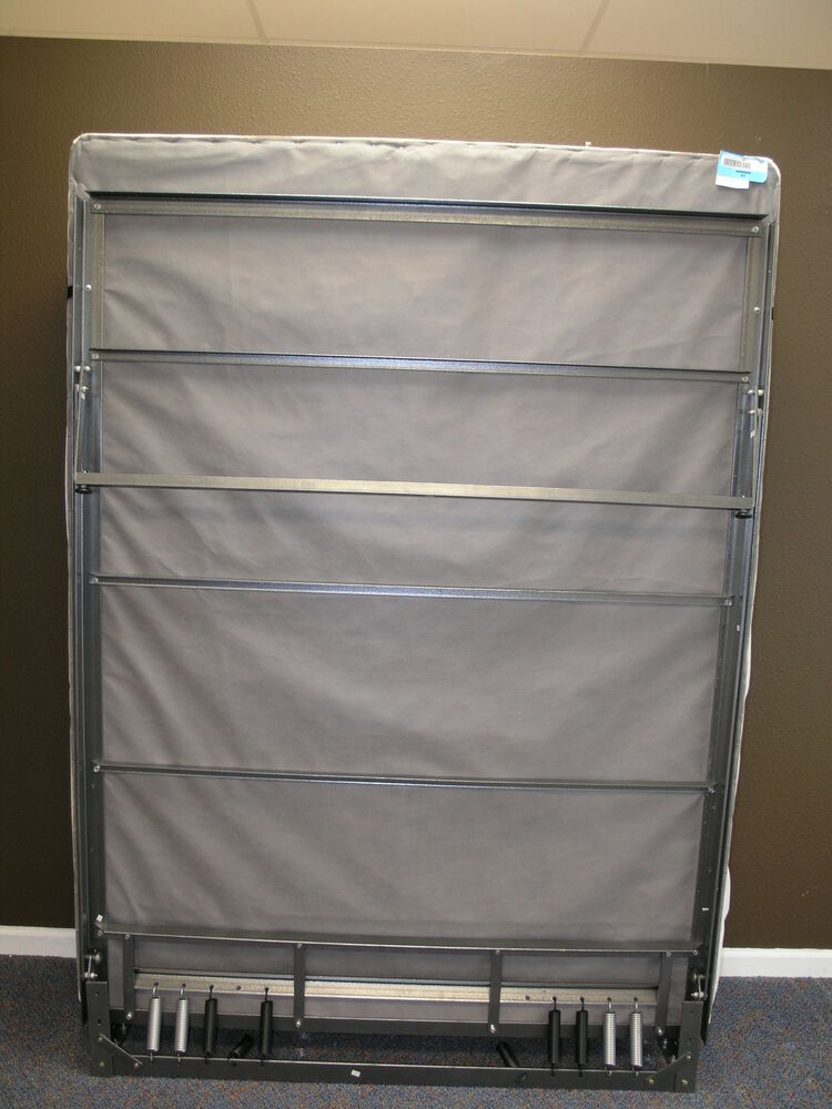 Steel Bed Frame With Springs