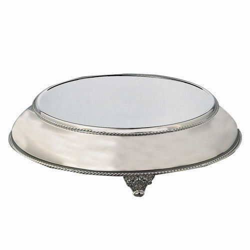 16 inch round wedding cake stands silvertapered cake stand plateau 16 top 20 base ebay 10057
