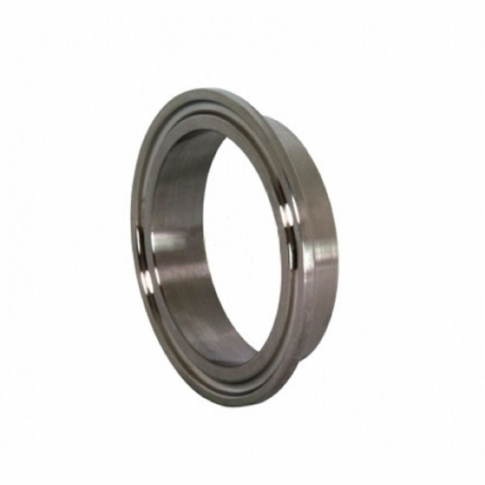 Quot short weld sanitary ferrule ss no tri clamp