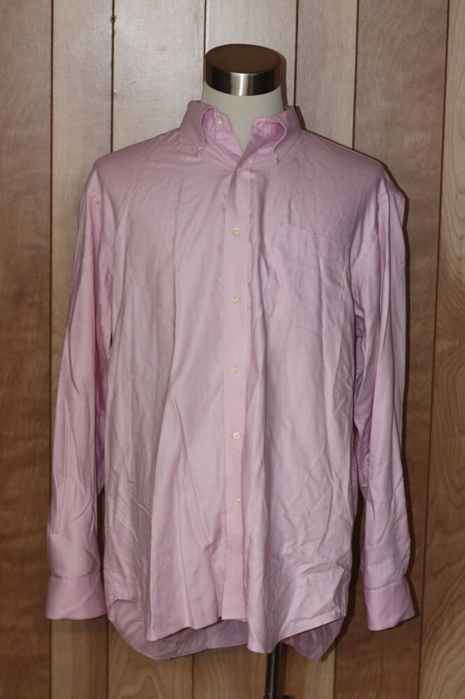 Men 39 s button down shirt size xxl ebay for Top mens button down shirts