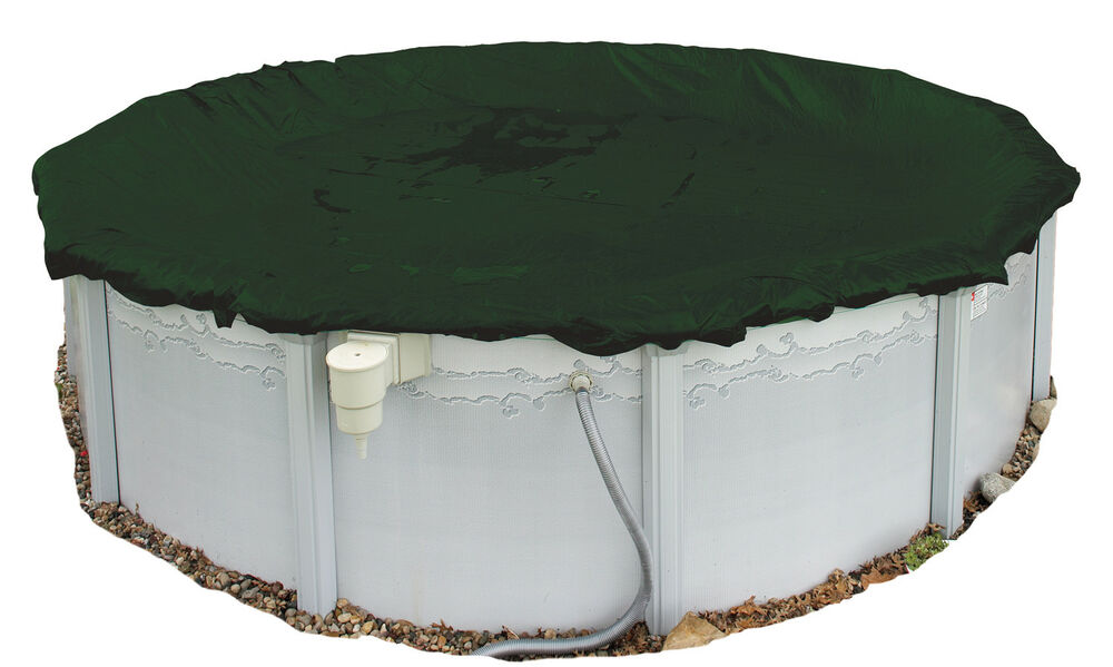 Winter Pool Cover Above Ground 24 Ft Round Arctic Armor 12