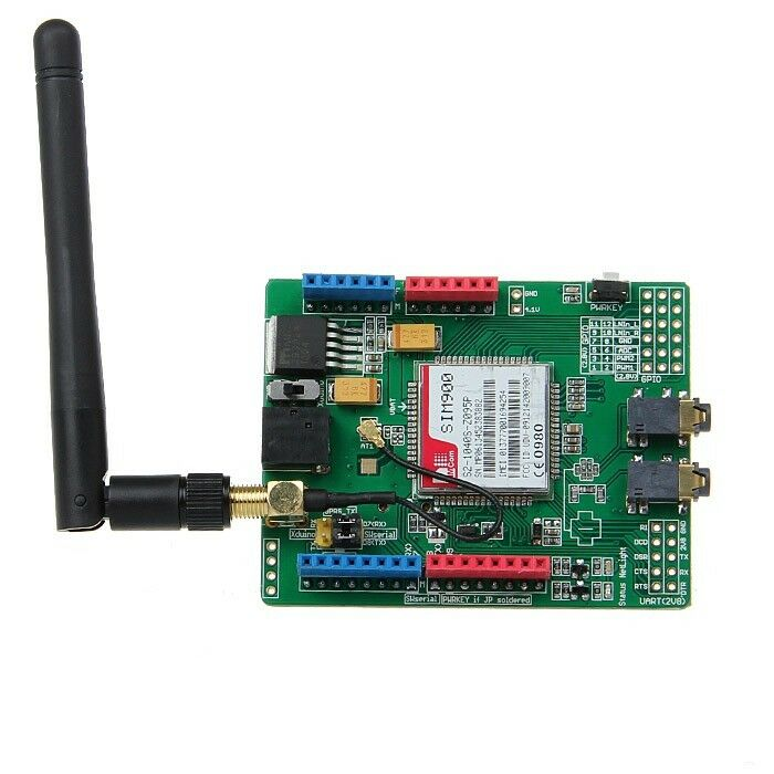 Sim quad band gsm gprs shield for arduino uno mega