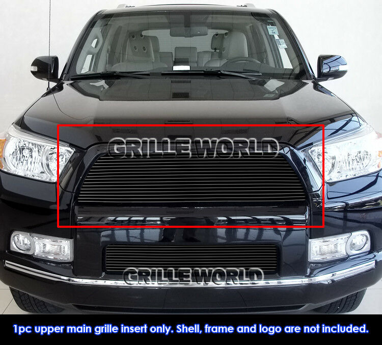 fits 2010 2013 toyota 4runner black billet grille grill. Black Bedroom Furniture Sets. Home Design Ideas