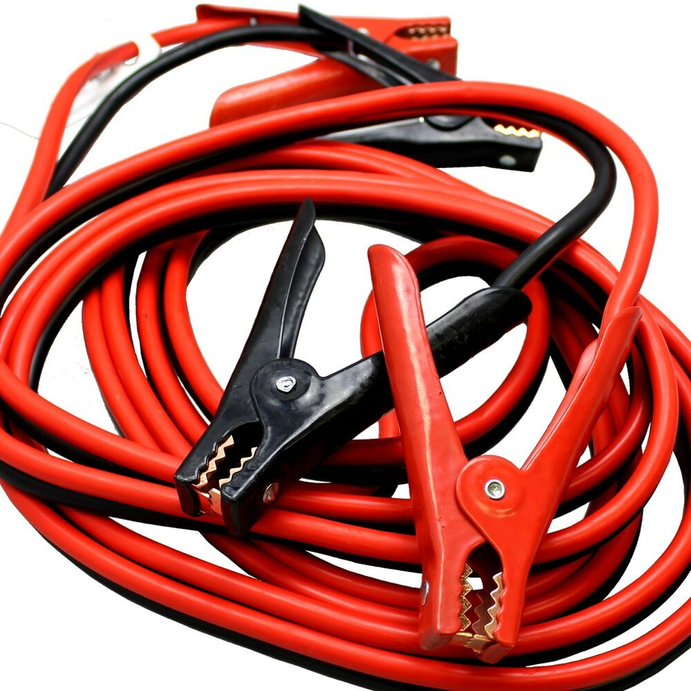 20ft X 4 Gauge Booster Cables Heavy Duty Jumpin Cables