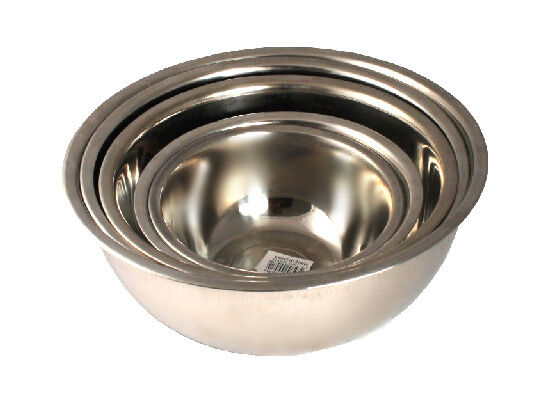 5 Pc Stainless Steel Mixing Bowl Set Cookware Utensils