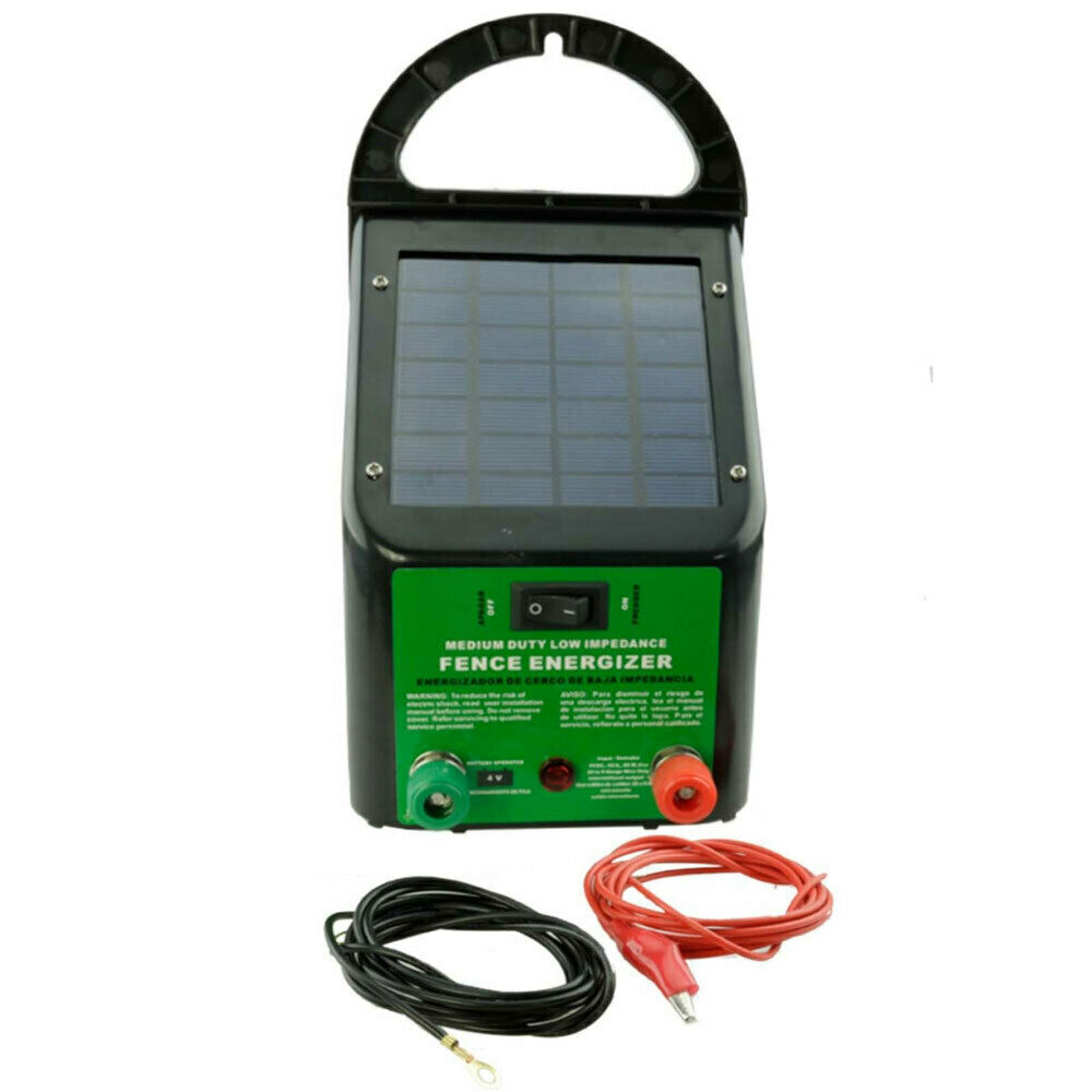 Compare Electric Fence Chargers Unlimited Access To Wiring Diagram Energizer 5 8km 0 4j Solar Power Energiser Charger For Poly Wire Tape Posts Ebay Schematic Best Rated