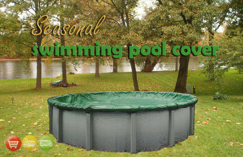 Premium Above Ground Swimming Pool Winter Cover All Sizes 12 Year Warranty Ebay