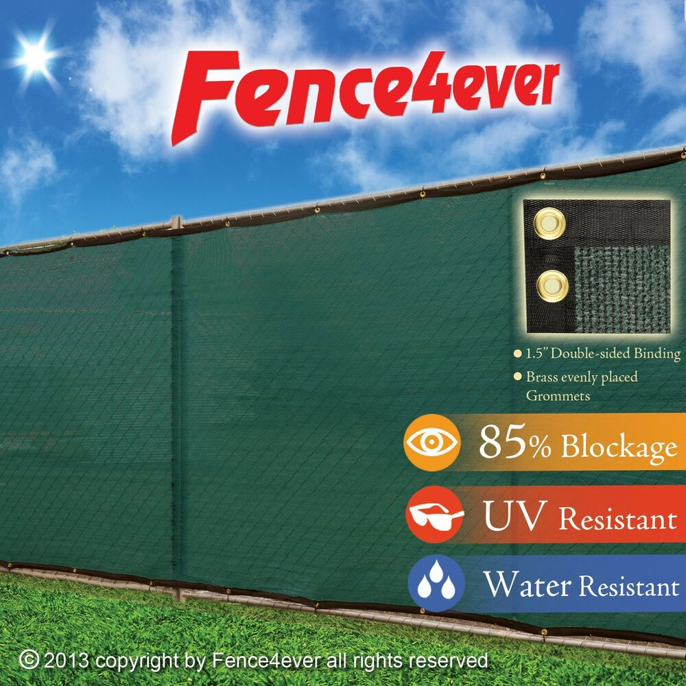 Privacy screen for chain link fence ebay - Fence Windscreen Privacy