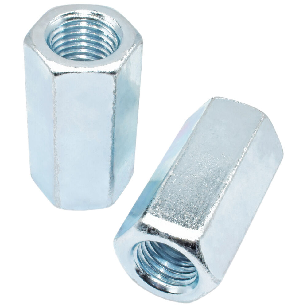 Of m din fully threaded coupling joining