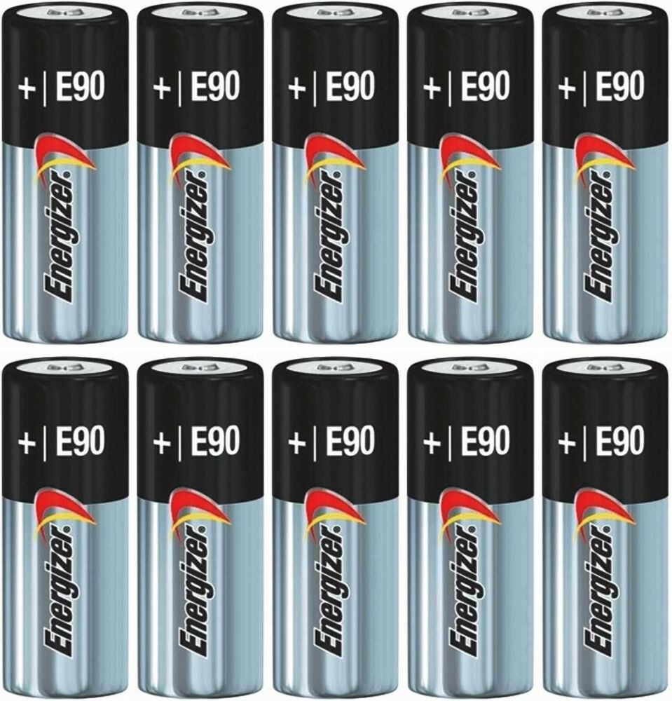10 energizer alkaline n 1 5 volt batteries e90 lr1 mn9100 910a ebay. Black Bedroom Furniture Sets. Home Design Ideas