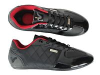 BRAND NEW BOYS VOI JEANS MURANO BLACK SHINY TRAINERS FOOTWEAR ALL SIZES 3 TO 6