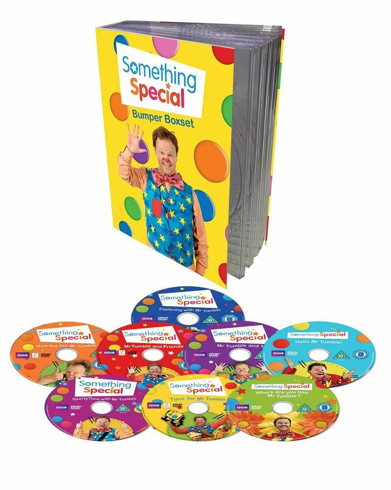 Something special bumper box 8 volume set mr tumble dvd - Something special ...