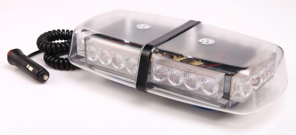 Vehicle Strobe Lights >> Warrior 12V Mini Light Bar magnetic roof mounted amber LED beacon Recovery | eBay