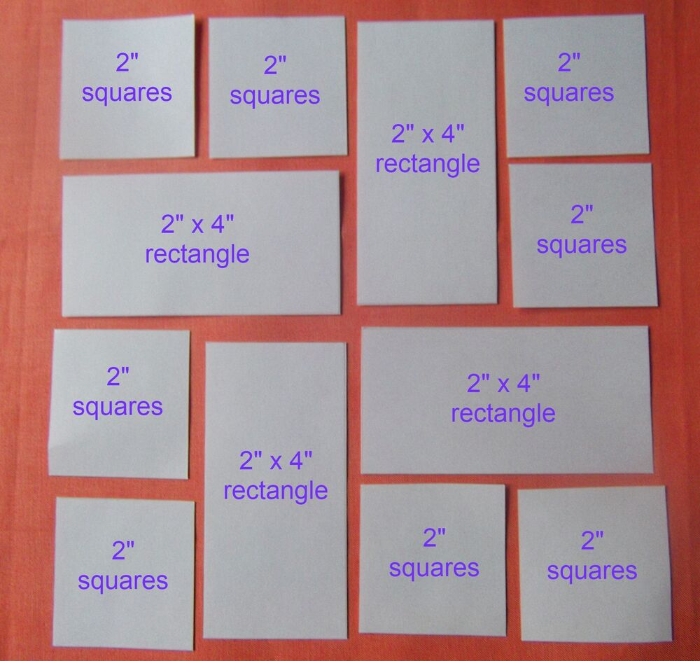 Quilting Templates Square : 90 SQUARE & RECTANGLE TEMPLATES FOR PATCHWORK ~NEW COMBO PACK~ QUILTING KITS eBay