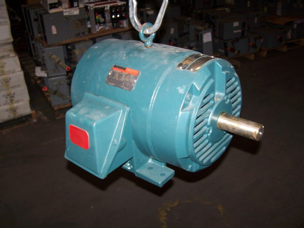 New reliance 20 hp electric motor 460 vac 254t frame 3520 for 20 hp single phase motor
