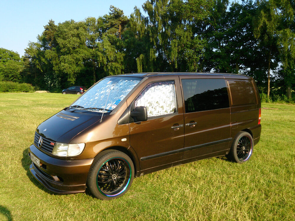 mercedes vito unique custom camper van conversion project ebay. Black Bedroom Furniture Sets. Home Design Ideas
