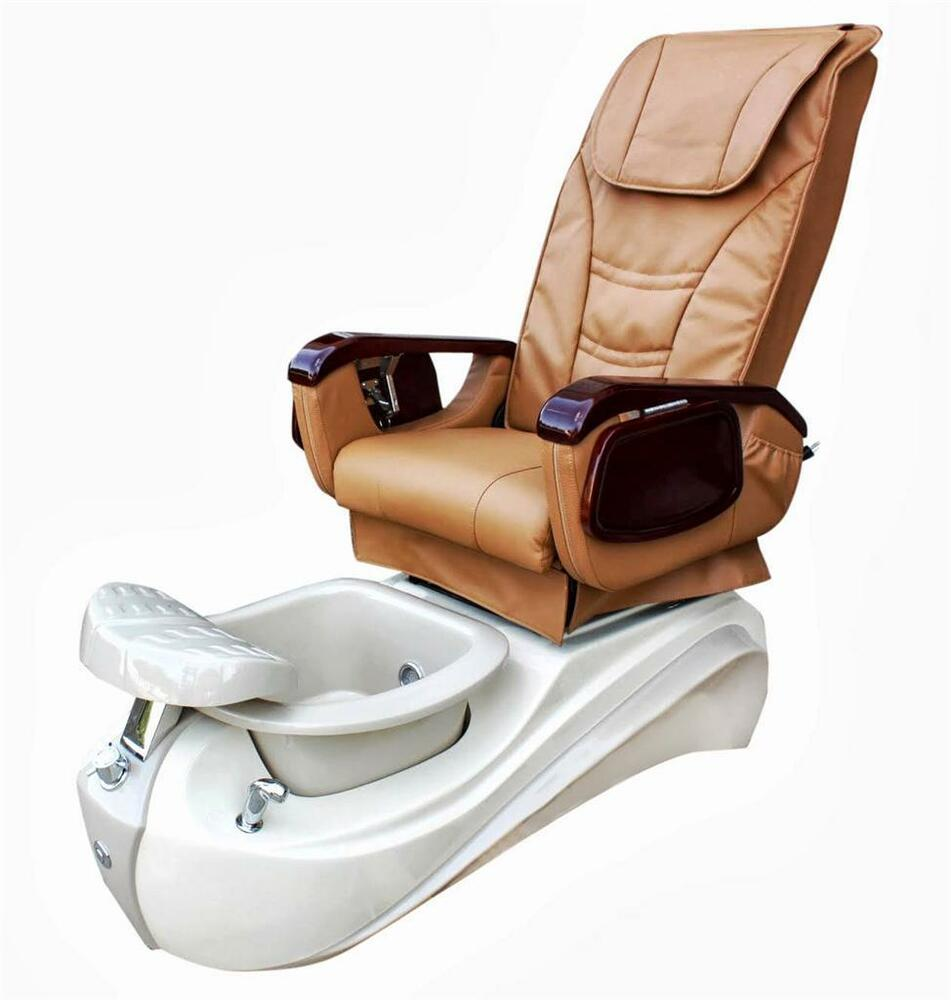 New I Arika Pedicure Massage Chair Spa Chair Warranty Nail Salon Free Ship