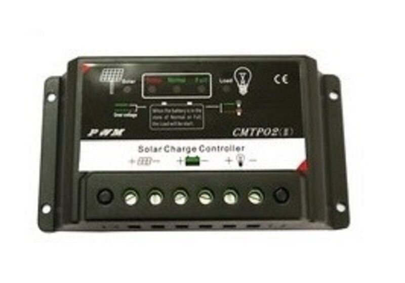10a Amp Pv Solar Charge Controller Pwm For 12v Volt Solar