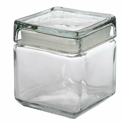 Anchor Hocking Jars Square Anchor Hocking Glass Square