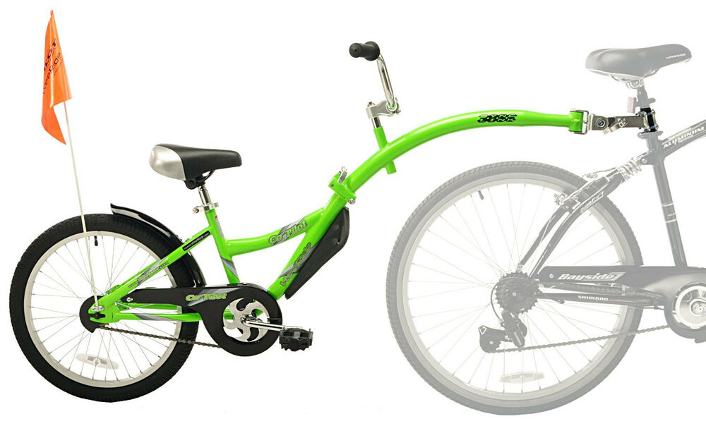 NEW WeeRide Co-Pilot Child Bike Bicycle Trailer Seat ...