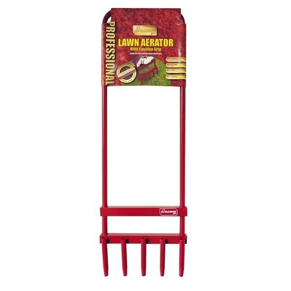 Kingfisher 5 Prong Hollow Tine Garden Lawn Aerator For