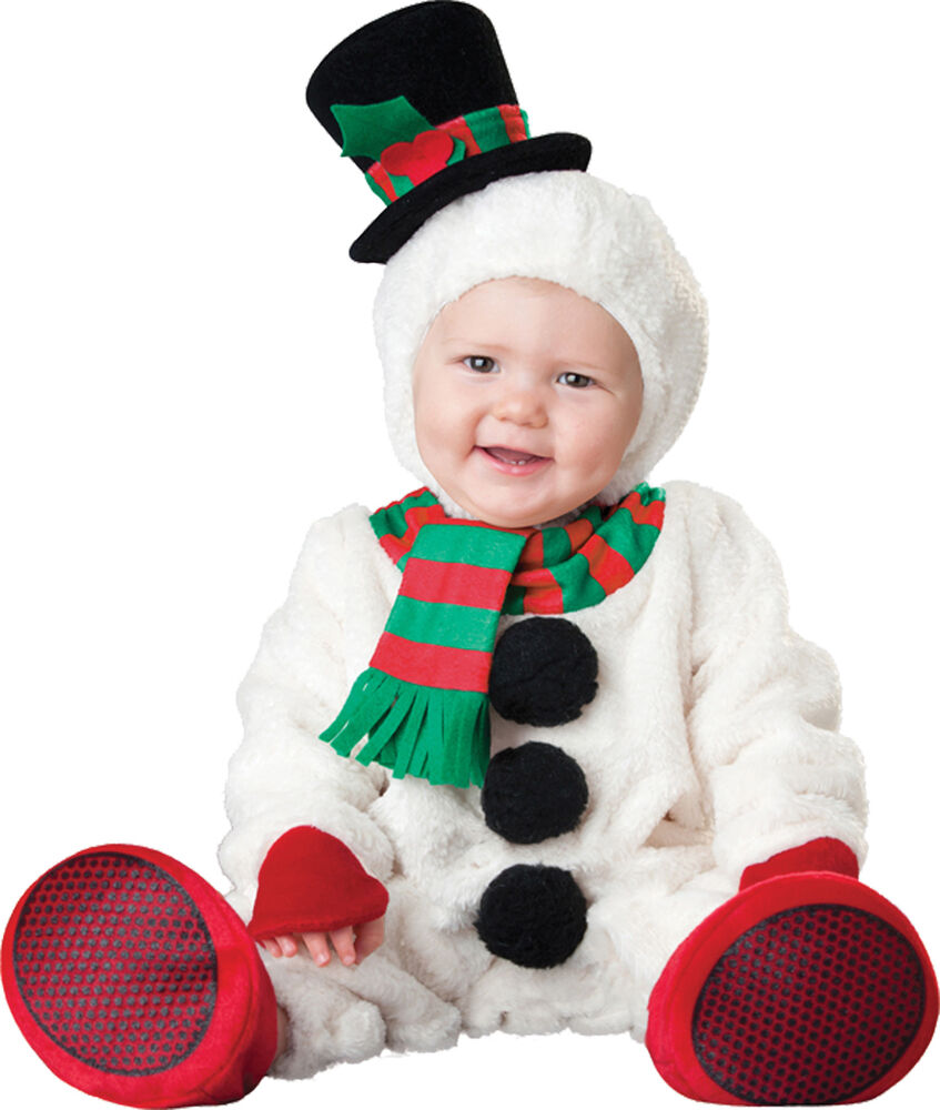 Silly snowman child toddler costume white holiday theme - Disfraces navidad para bebes ...