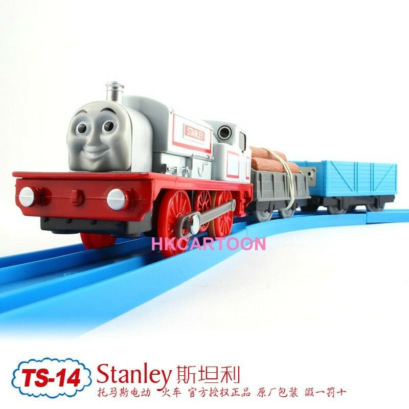 Tomy trackmaster thomas friends ts 14 stanley with 2 for Thomas friends trackmaster motorized railway