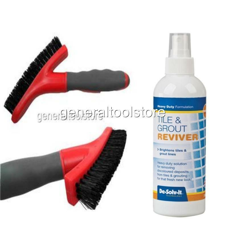 Ceramic tile and grout cleaner