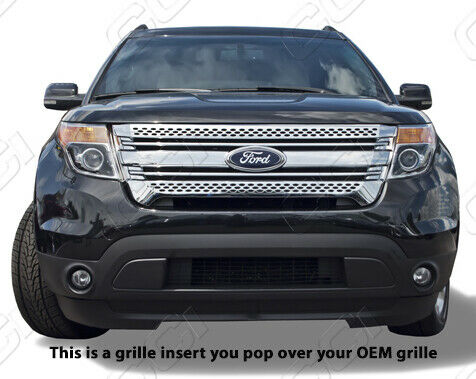 Ford Explorer Chrome Grille Grill Insert Trim Mesh
