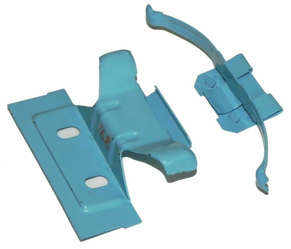 1964 81 Gm Heater Core Mounting Blue Clips Clamps Box Ac Non Air Chevy Truck Conditioning