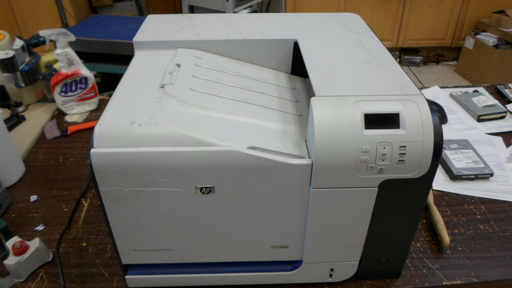 how to get my hp 4502 printer on the network