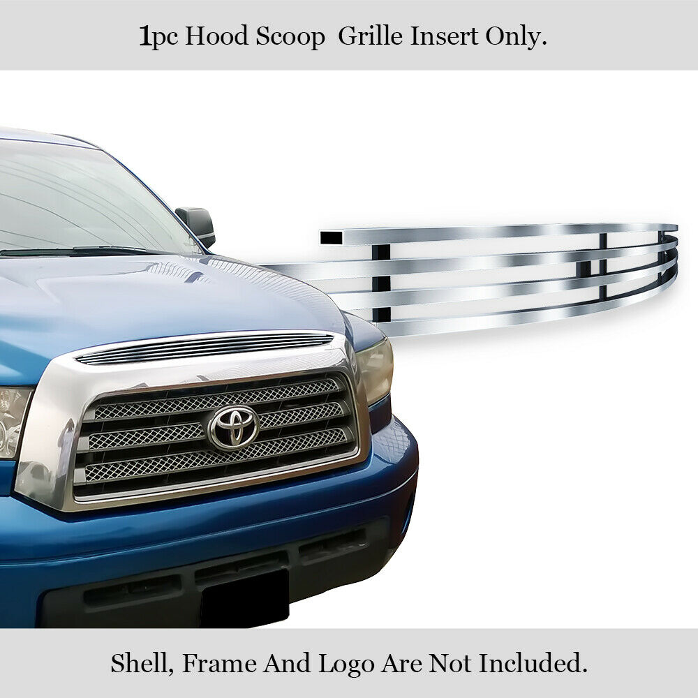 05 Toyota Tundra: Fits Toyota Tundra Top Panel Hood Scoop Billet Grille