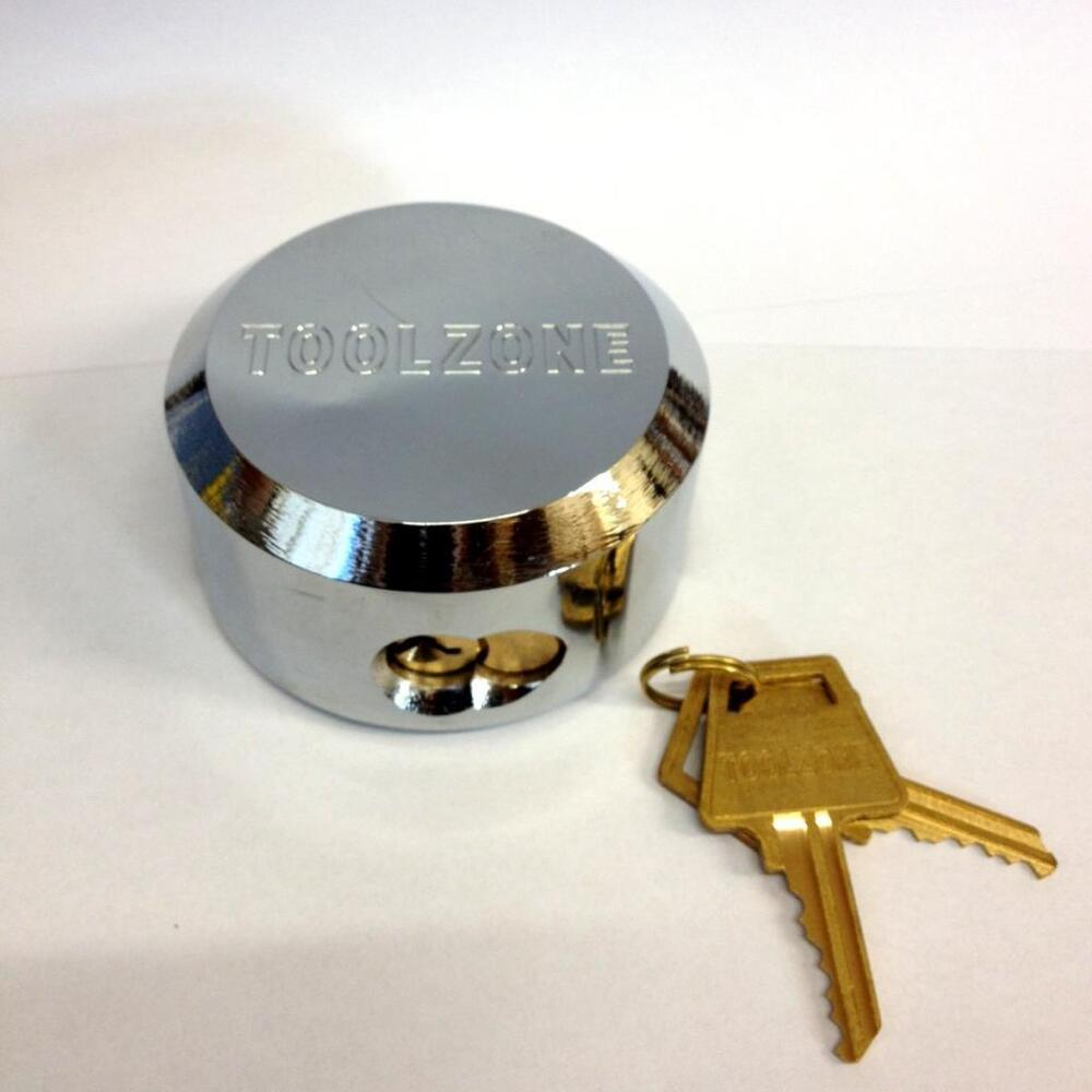 73mm Round Lock Padlock Heavy Duty Van Lock Replacement