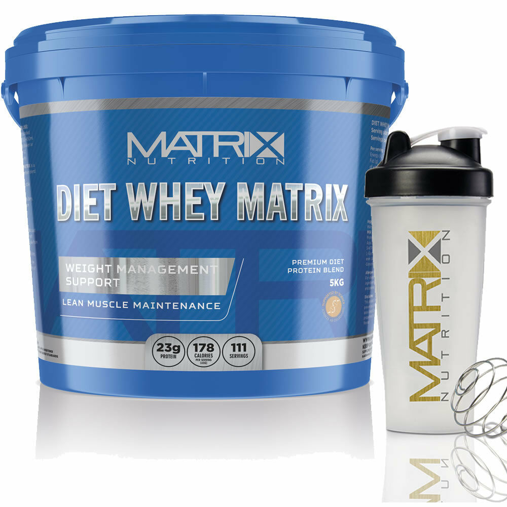 Whey protein matrix