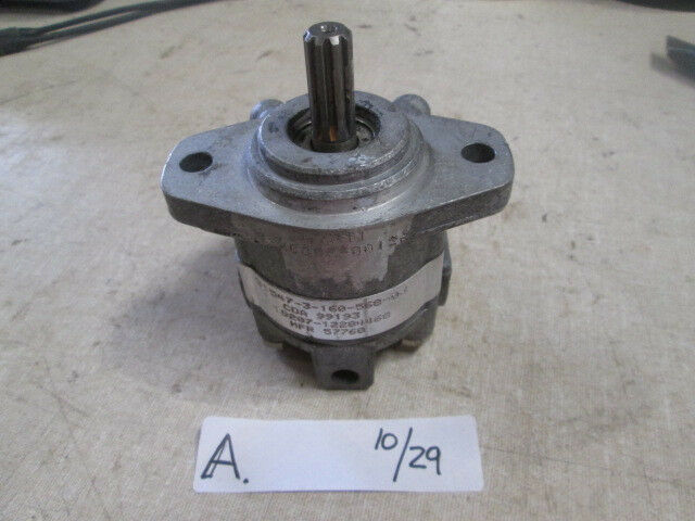 Miniature Hydraulic Motors : Used small rotary hydraulic pump motor for core or rebuild