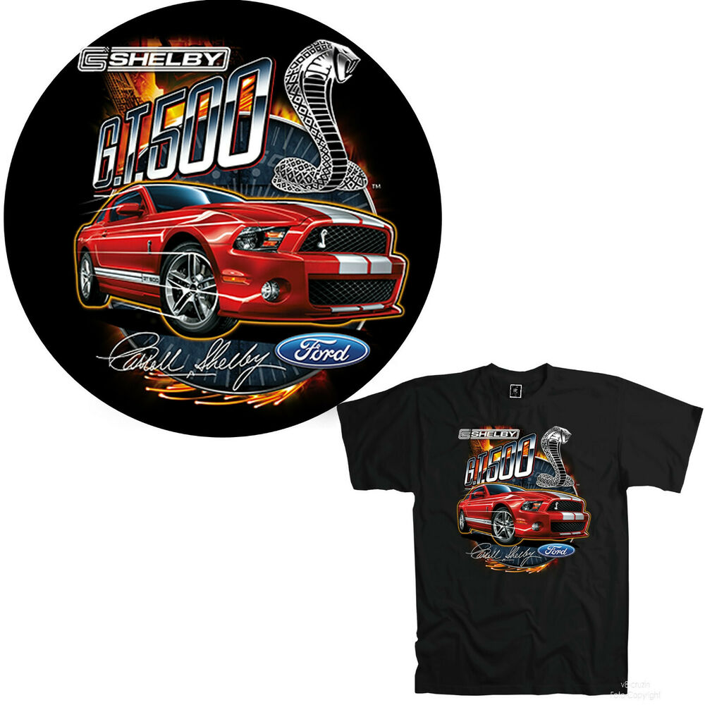 Licensed Cobra Gt 500 Ford Mustang Musclecar Shelby T