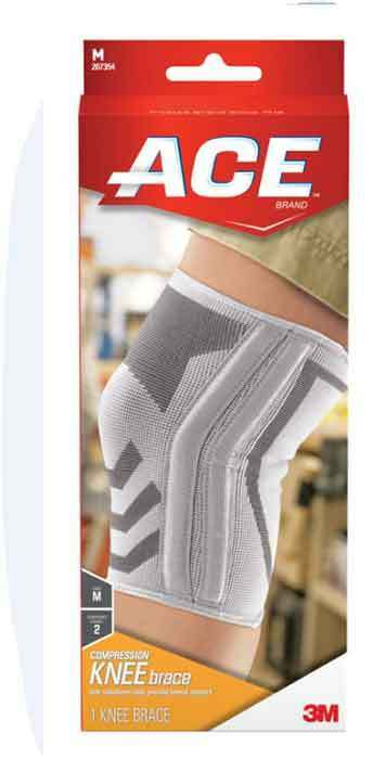 Ace Knee Brace With Side Stabilizers Support Arthritis