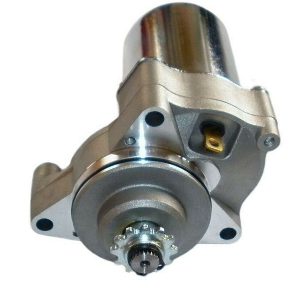 12v starter motor 70 90 110cc chinese quad electric start for How to make an electric bike with a starter motor