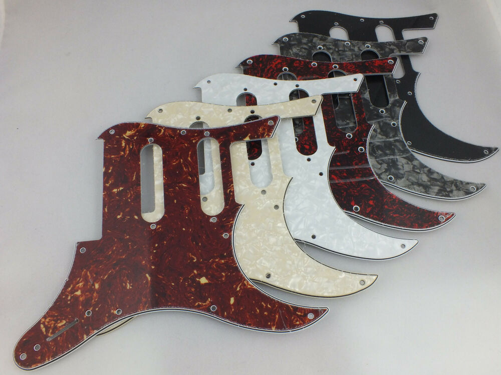 scratch plate pick guard for yamaha pacifica 112v electric guitar in 6 colours ebay. Black Bedroom Furniture Sets. Home Design Ideas
