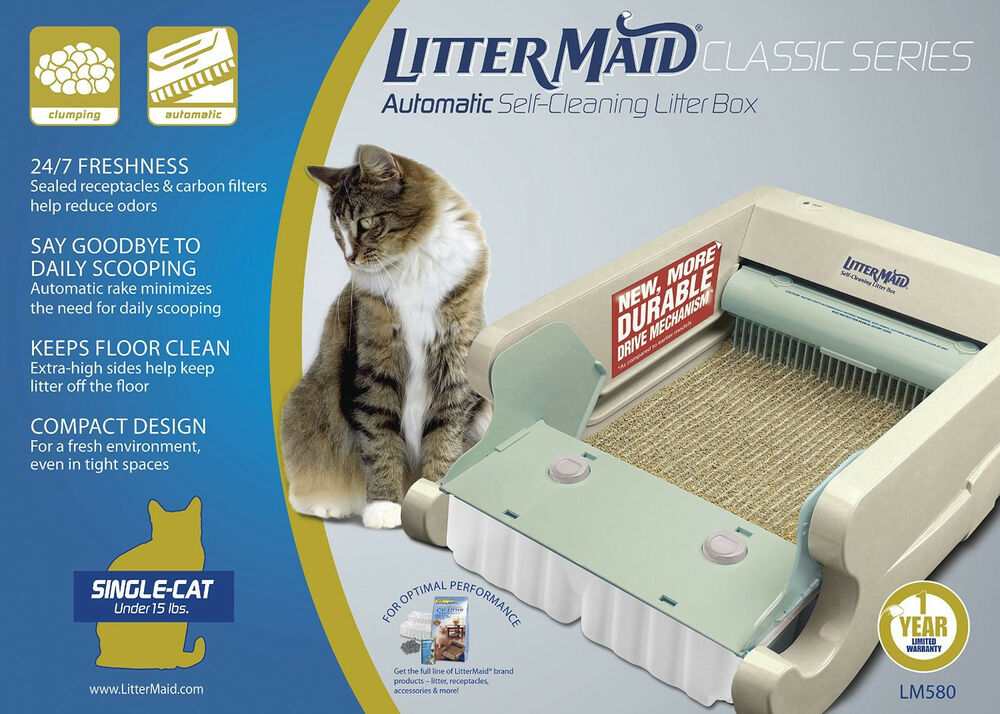 NEW Littermaid LM680C Classic Self Cleaning Litter Box